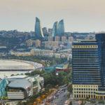 azerbaijan-baku-flame-tele-architecture-avenue-bay-cars-city-downtown-hilton-skyline-sunset-touristic-towers-travel