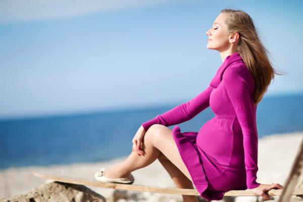 Как быть стильной и модной во время беременности