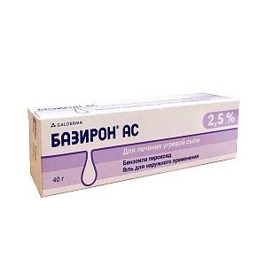 baziron-as-instruktsiya-po-primeneniyu-pokazaniya-protivopokazaniya-pobochnoe-dejstvie-opisanie-basiron-ac-gel-d-2